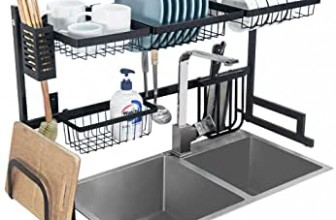 Over The Sink Dish Drying Rack Review (2020 Updated)
